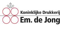 Koninklijke Drukkerij Em de Jong_Logo200x100px